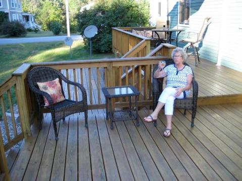 deck large seating