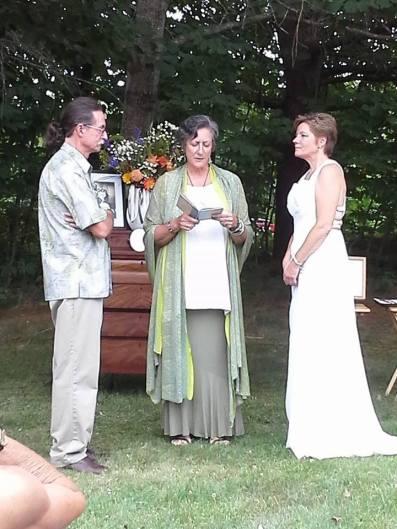 Jo & Steve ceremony